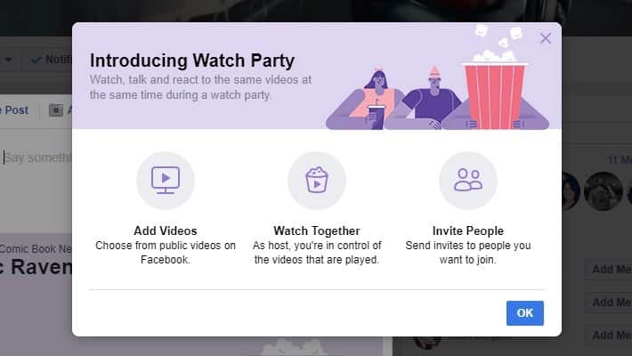 Facebook rolls out Watch Party | Smart Hatch