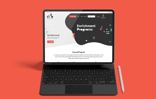 Rize Enrichment Programs -Website