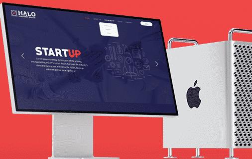 Halo Businessmen -Website